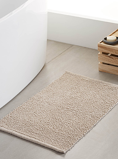 Looped bath mat  50 x 80 cm