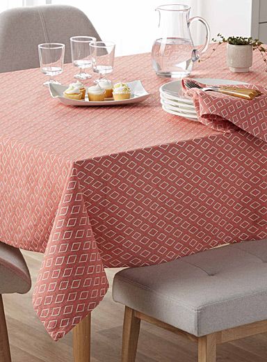 Rich earth pure cotton tablecloth