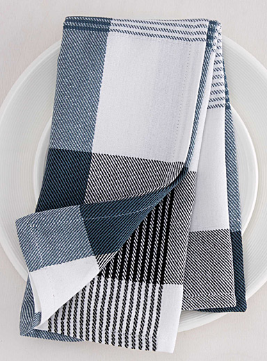 Saint-Tropez plaid napkin