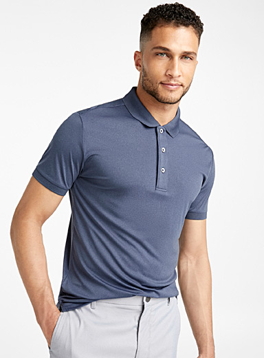The Earl solid polo