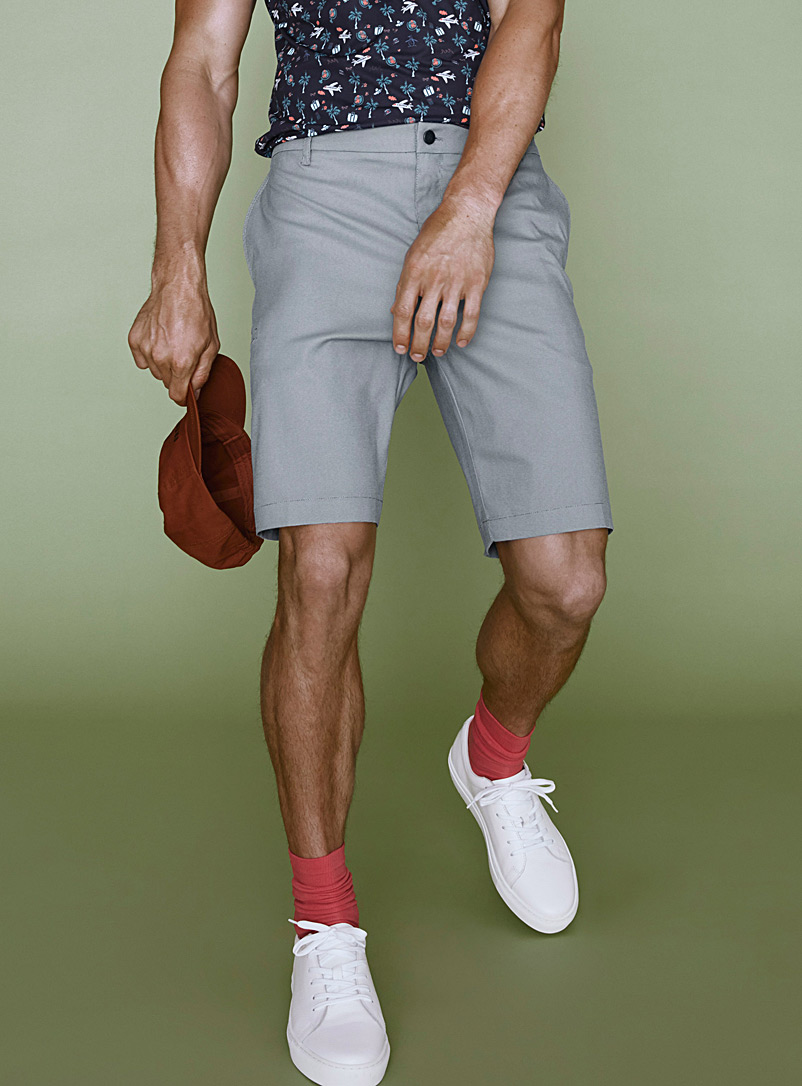 oxford-print-golf-short
