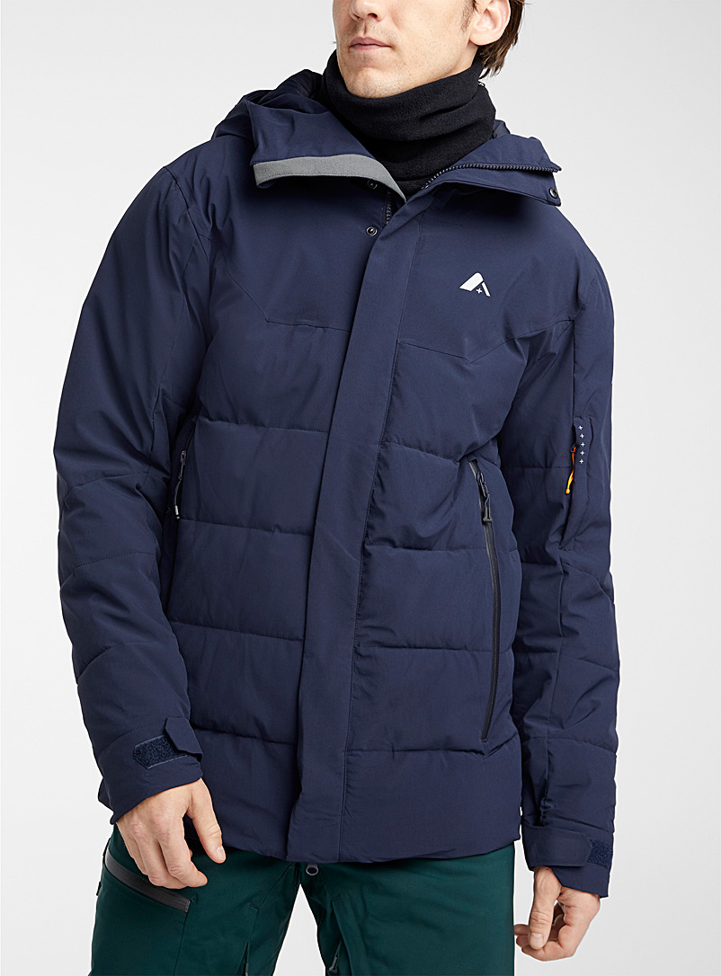 Orage Marine Blue Redford puffer coat  Regular fit for men
