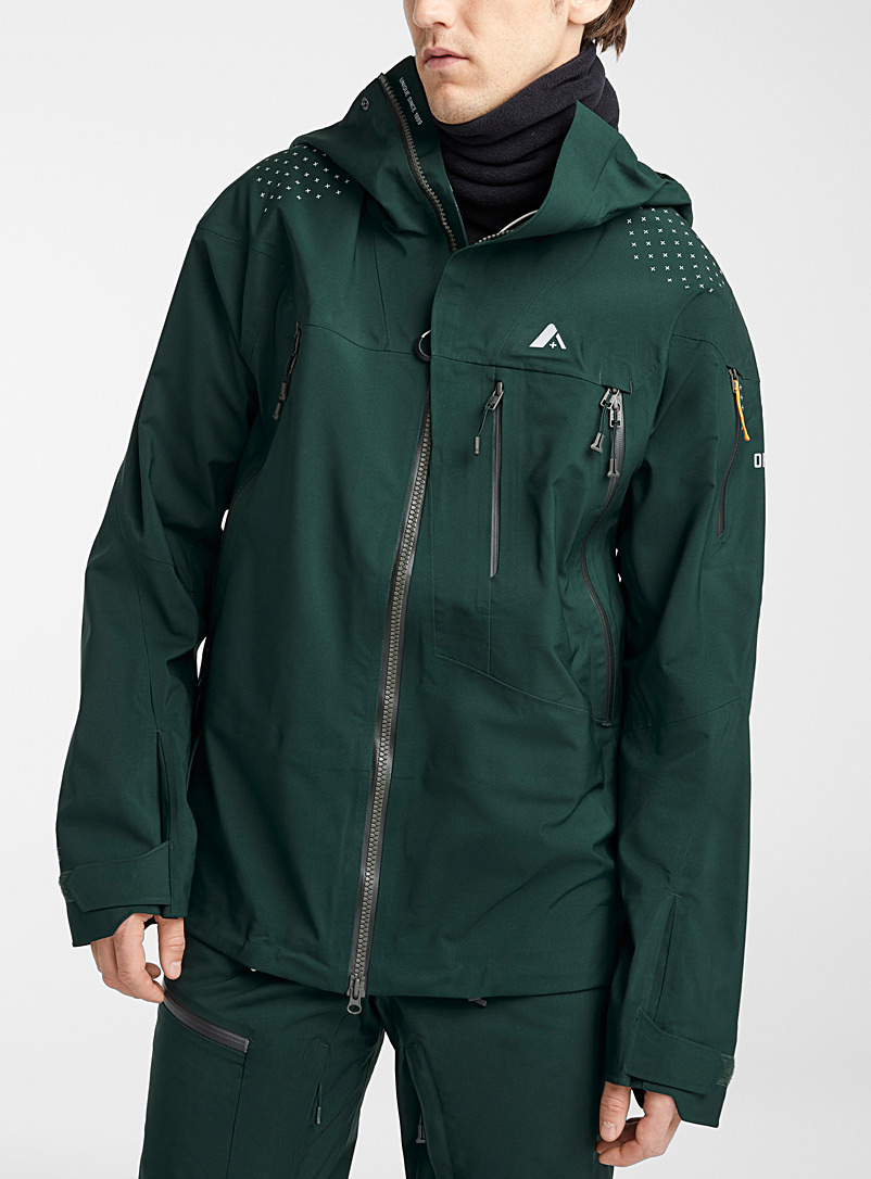 Orage Green Spire shell coat  Regular fit for men