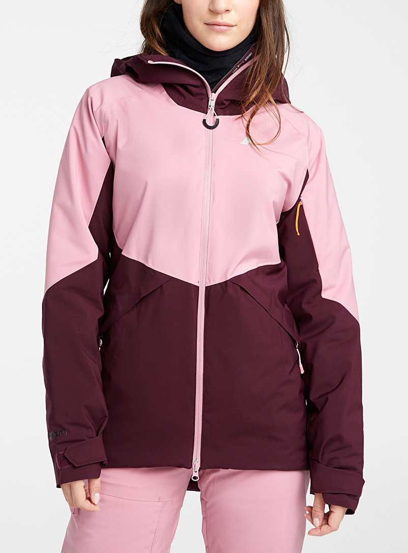 Orage Pink Lillooet insulated coat  Regular fit for women