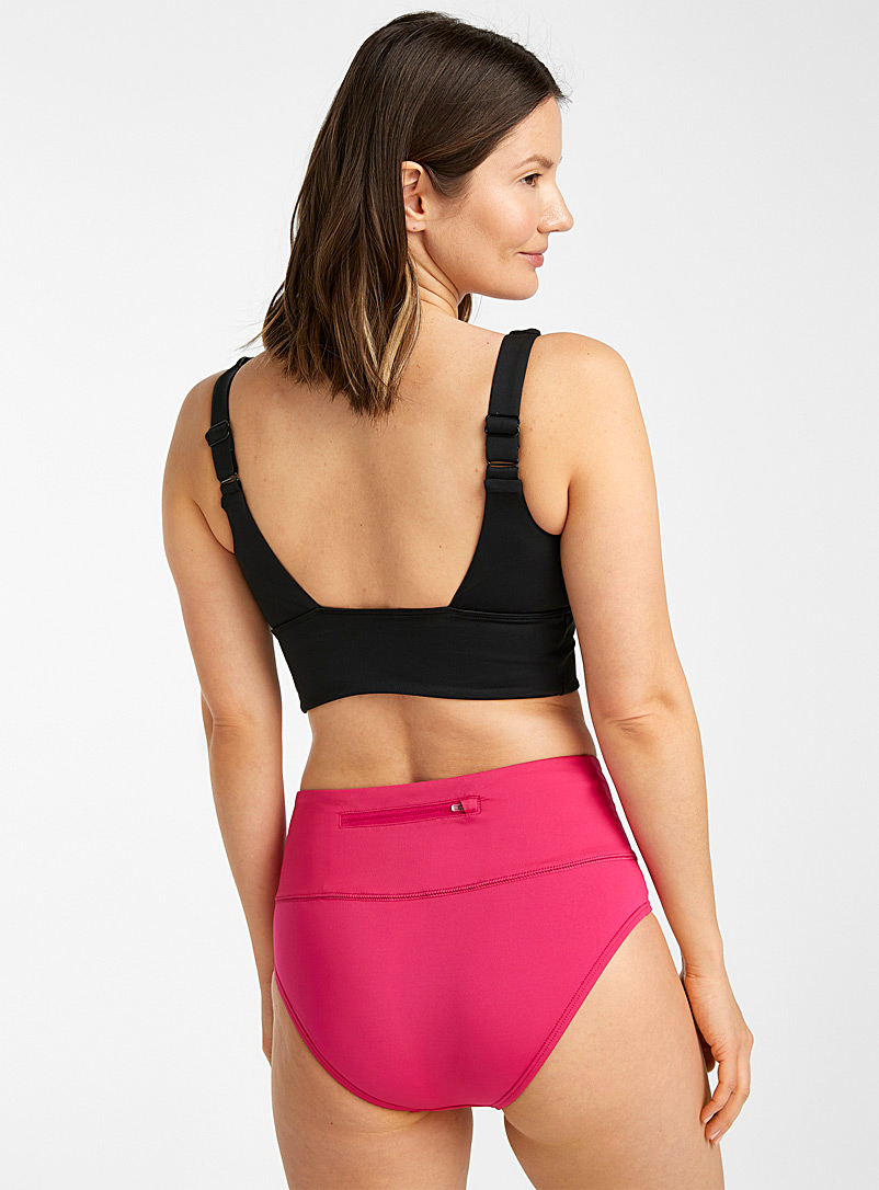 Nike Pink Swoosh logo high-rise bottom for women