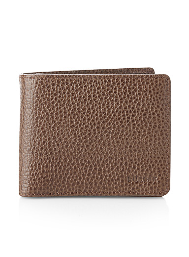 Sherman leather wallet