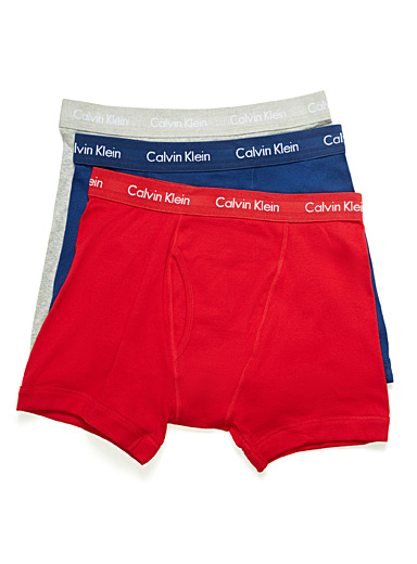 Contrast waist boxer brief  3-pack