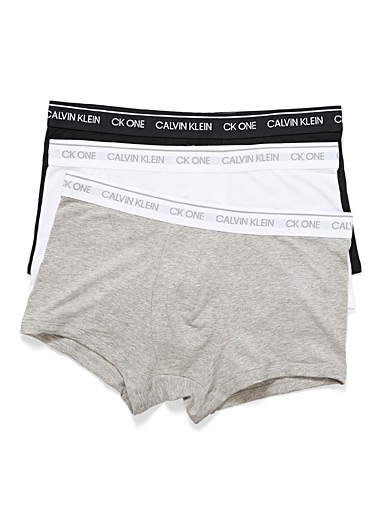 Calvin Klein Charcoal CK1 trunk  3-pack for men
