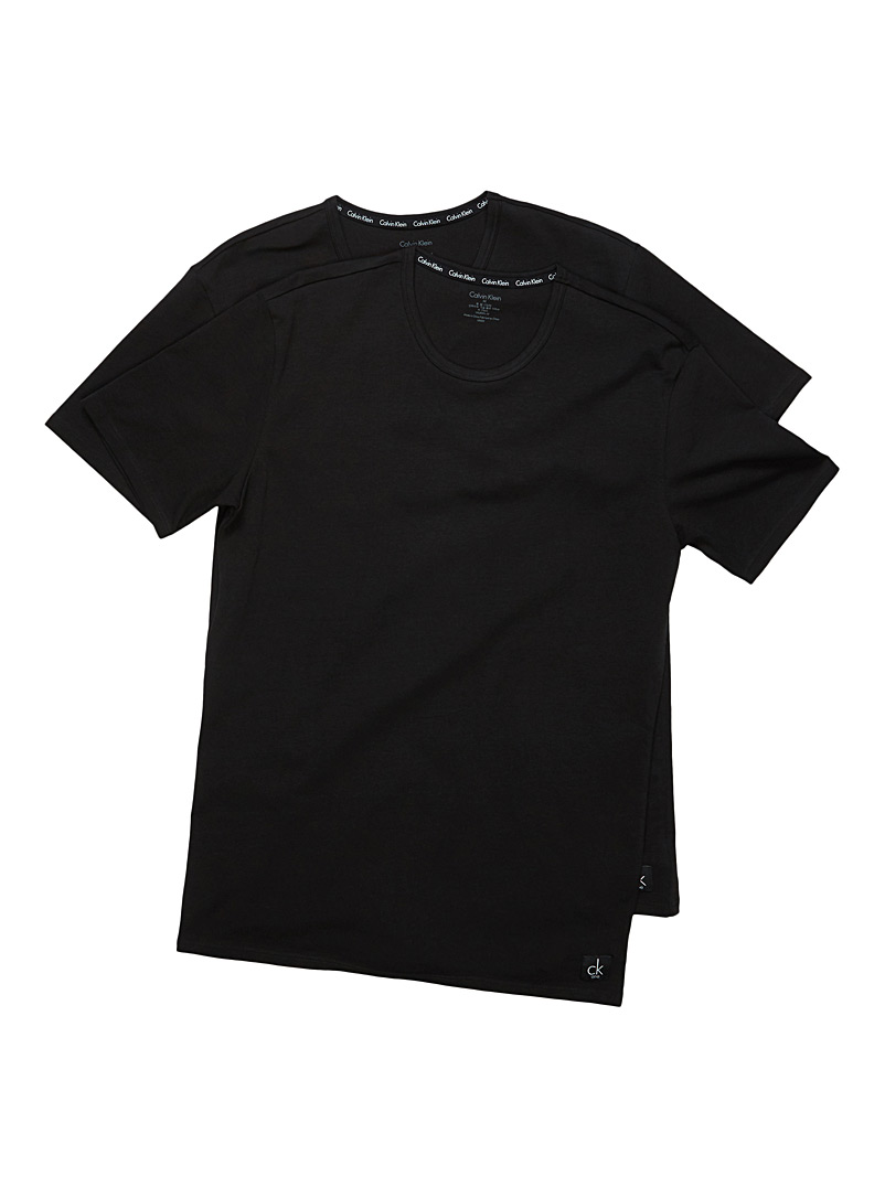 le-duo-tee-shirts-col-rond-ck-one