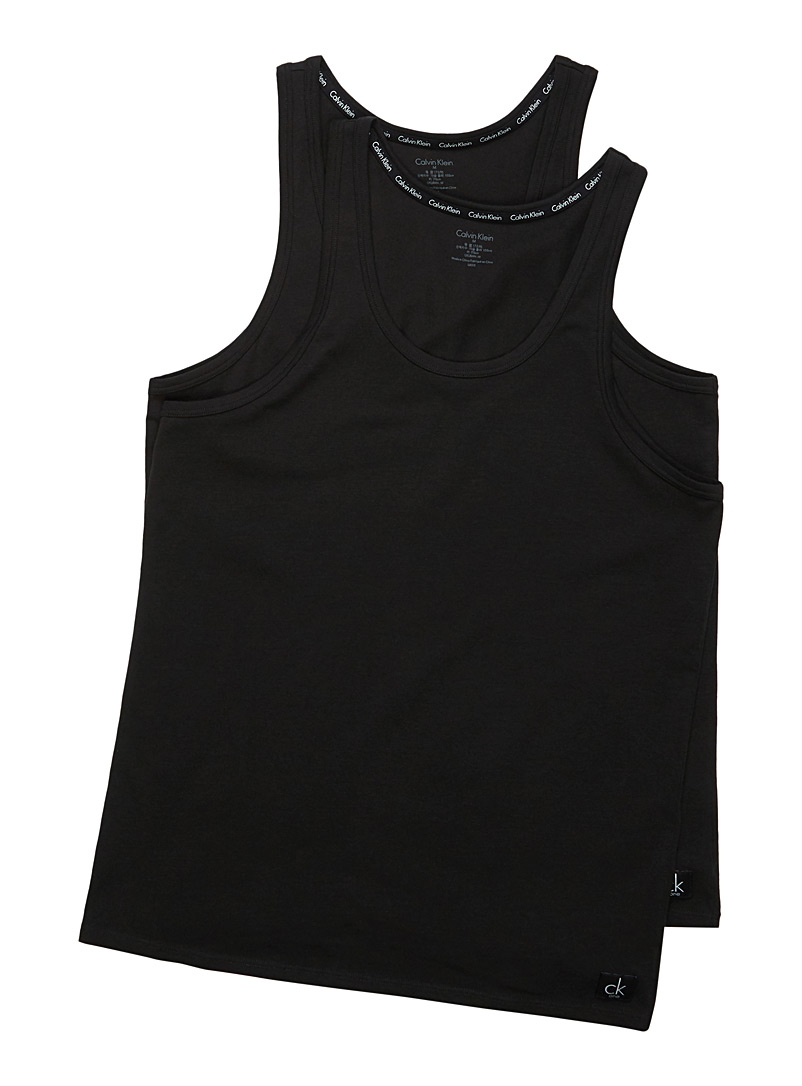 Le duo camisoles CK One - Camis et tee-shirts - Noir
