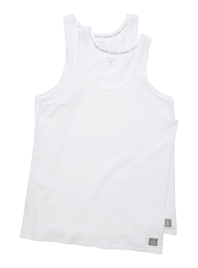 CK One tank 2-pack - Tanks & T-shirts - White