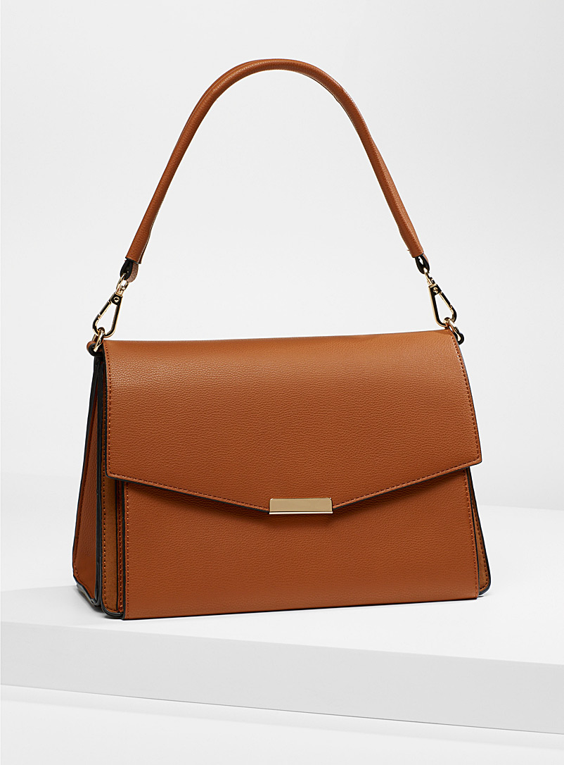 Simons Brown Refined ladylike bag for women