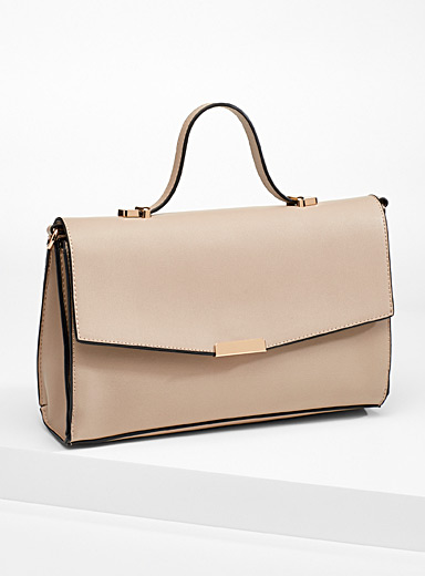 Simons Sand Structured handbag for women