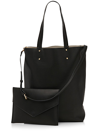 Chic tote and clutch