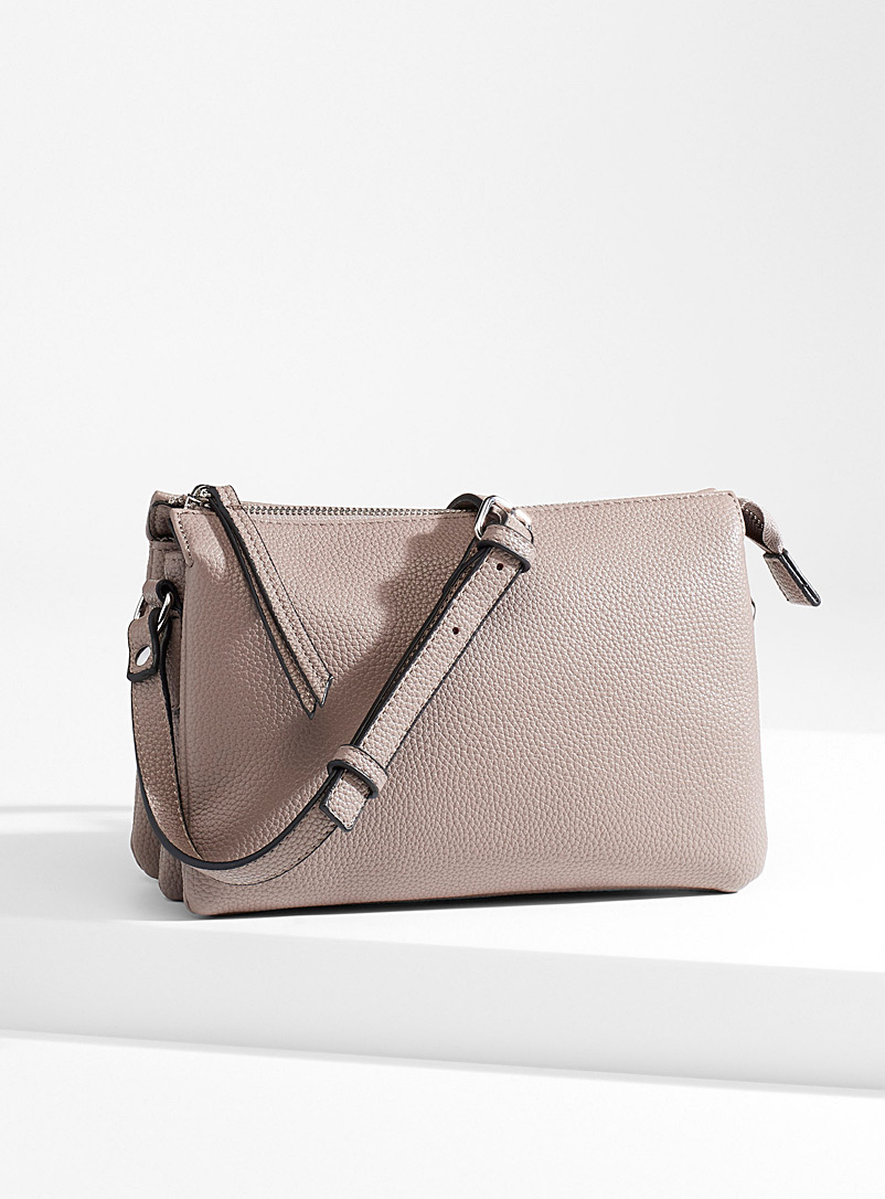 Simons Grey Triple shoulder bag for women
