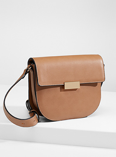 Small equestrian shoulder bag