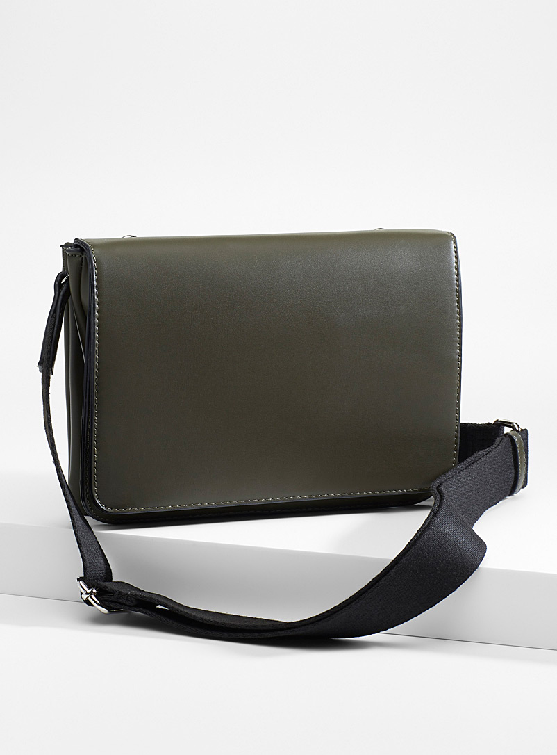Flap shoulder bag - Clutches and Minaudieres - Khaki