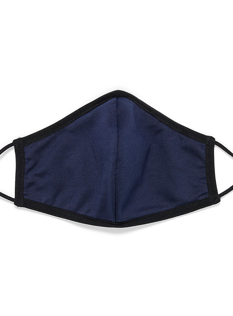 Solid antibacterial fabric mask