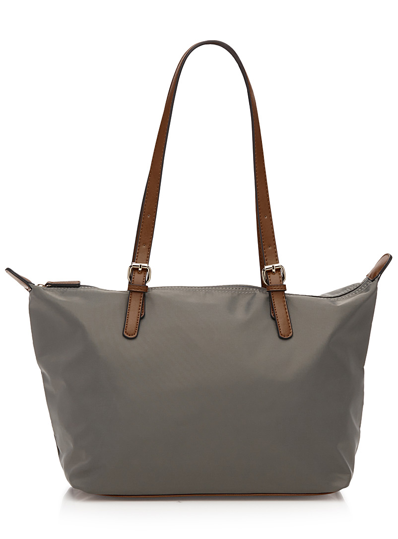 faux-leather-accents-nylon-tote