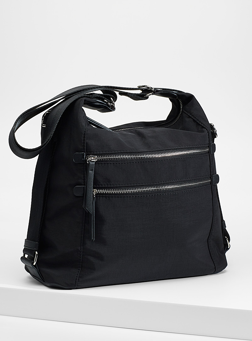 2-in-1 utilitarian bag - Backpacks - Black