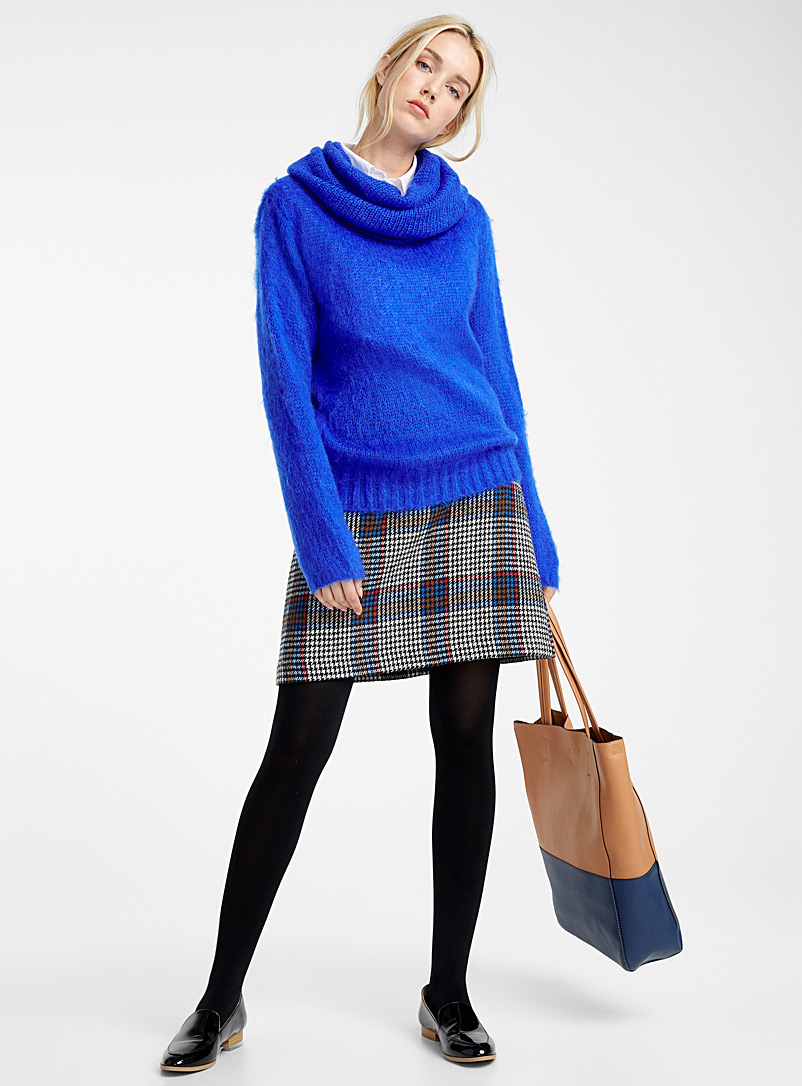 Two-tone tote and clutch - Tote Bags - Fawn