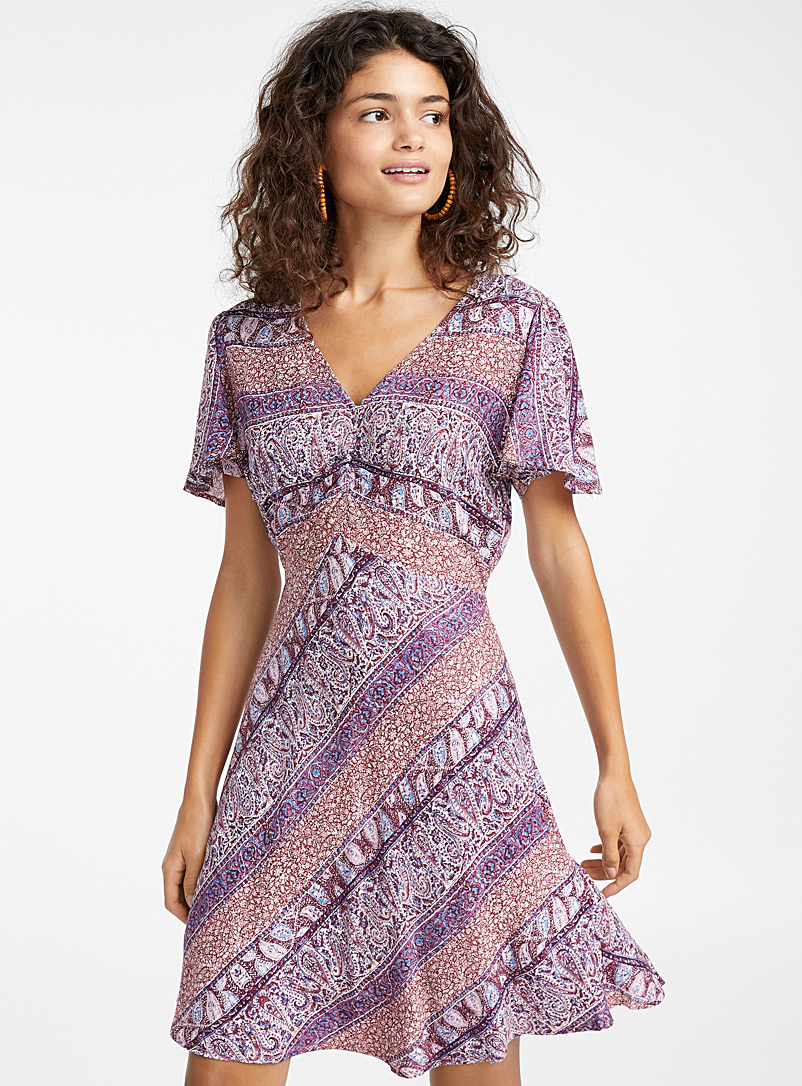 Gathered neck dress - Fit & Flare - Assorted