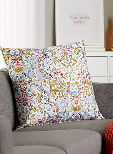 Indian garden cushion <br>60 x 60 cm