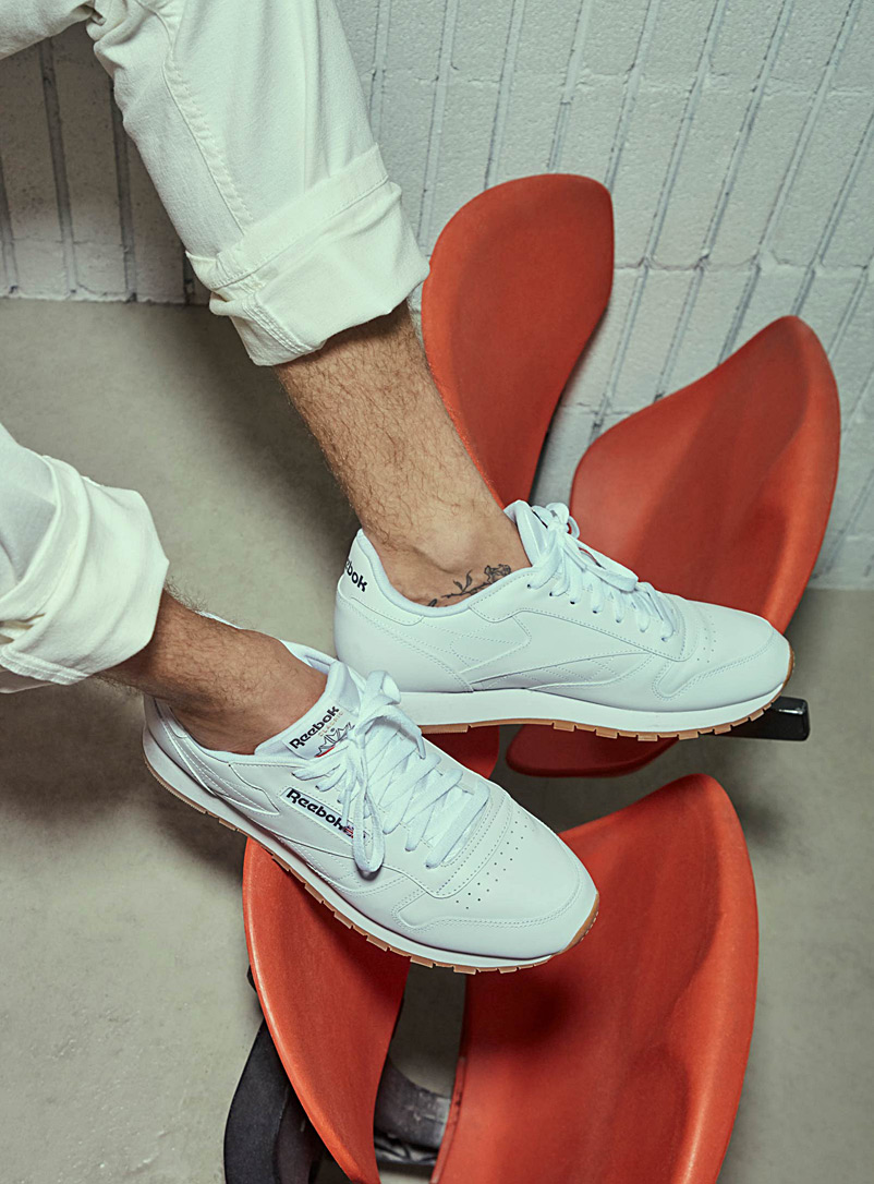 Le sneaker Classic Leather  Homme - Sneakers - Blanc