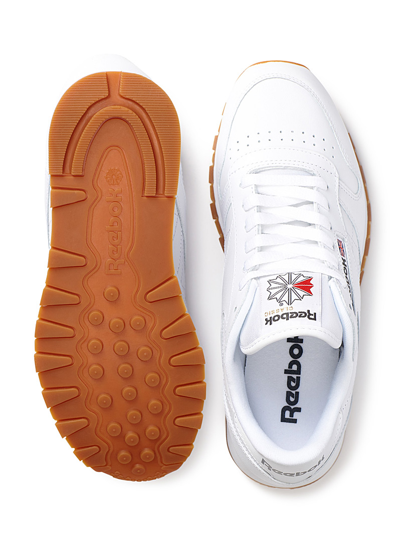 Classic Leather sneakers  Men - Sneakers - White