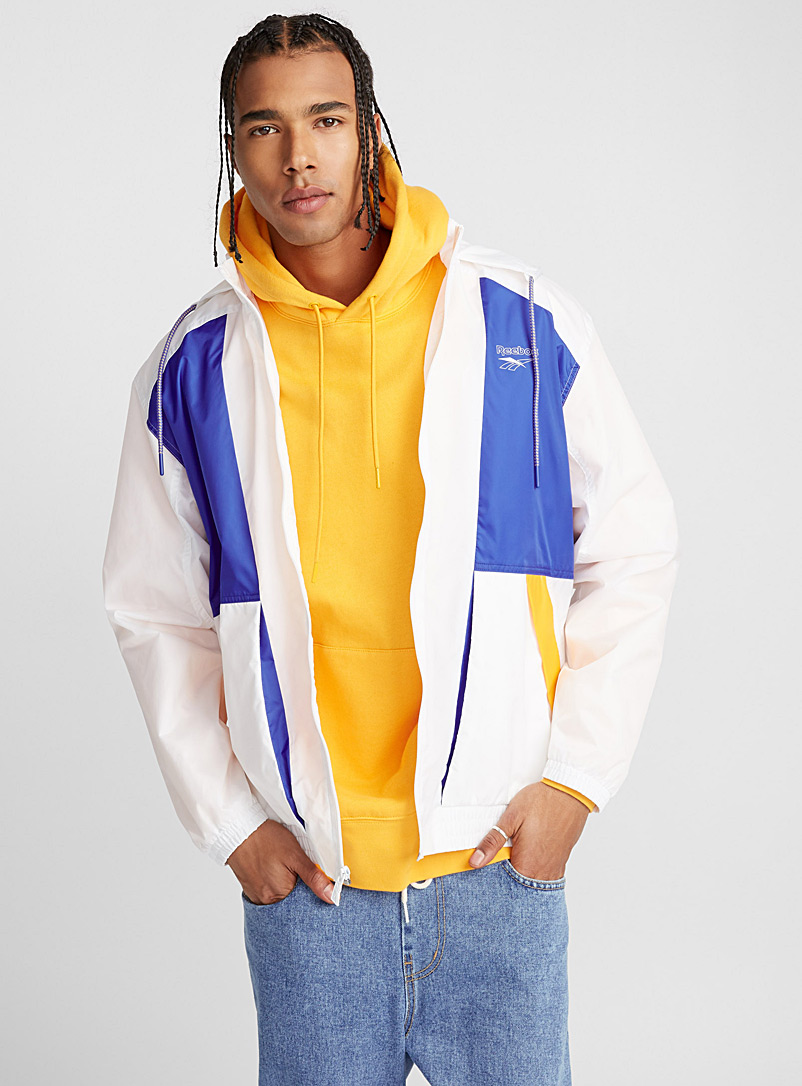 Block accent windbreaker - Jackets & Vests