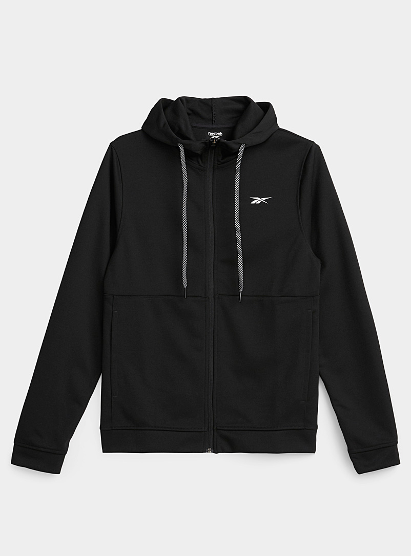 Reebok Classic Black Contrast hooded sweatshirt for men