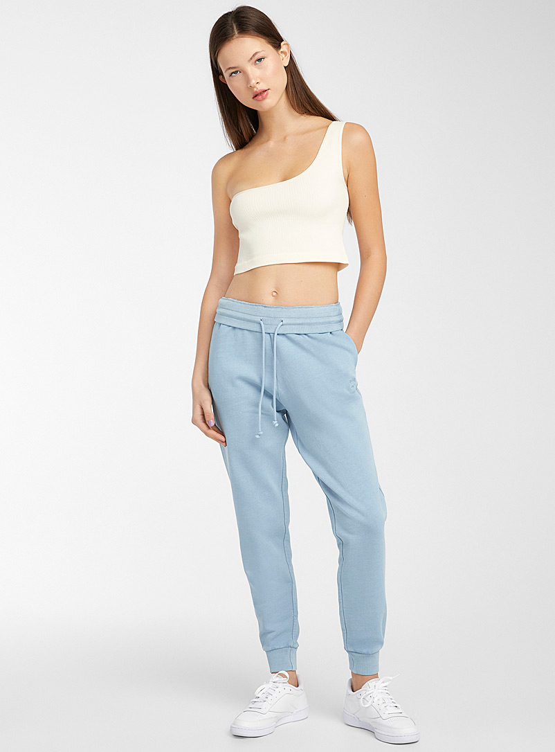 Reebok Classic Slate Blue Faded natural pigment joggers for women