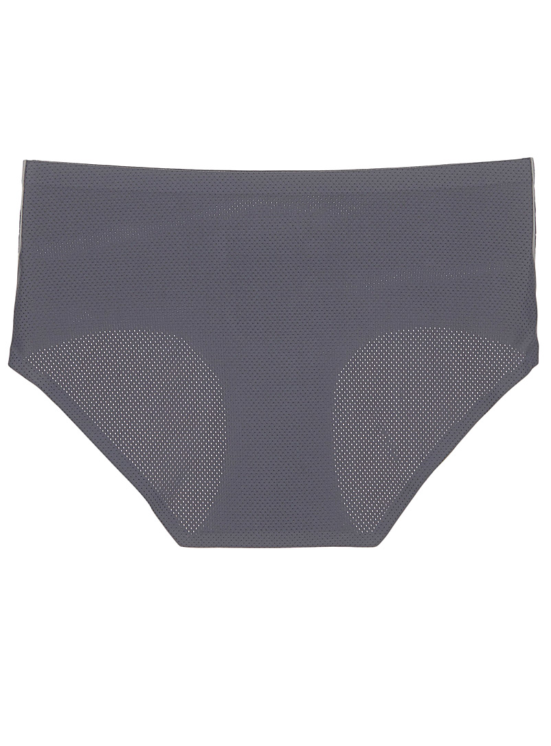 Invisible micro-perforated hipster - Hipsters - Charcoal
