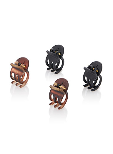 Essential mini claw clips  Set of 4