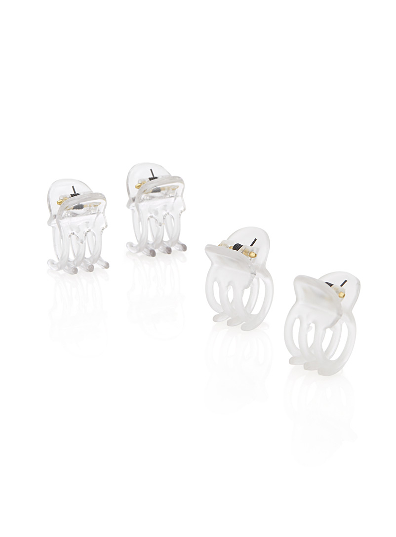 Essential mini claw clips  Set of 4 - Barrettes and Clips - Assorted