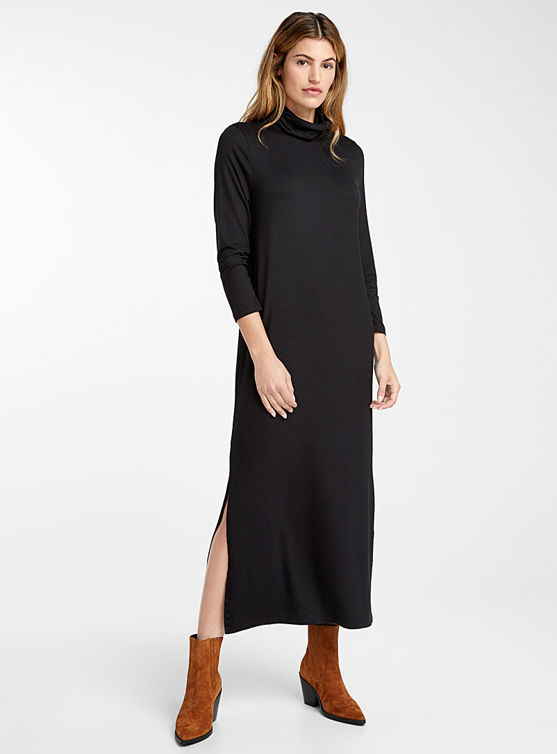 rebbie-modal-turtleneck-dress