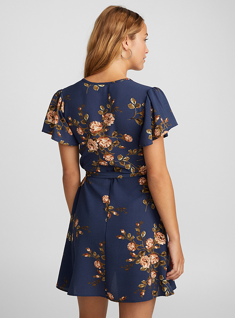 Floral wrap dress - Fit & Flare - Assorted