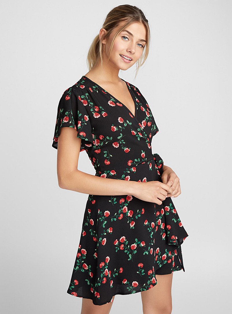 Floral wrap dress - Mini - Assorted