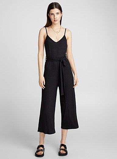 Fitted gaucho jumpsuit