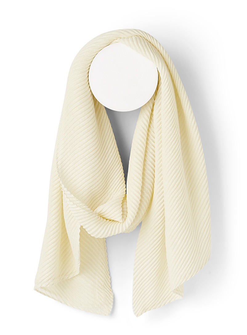 pleated-sheer-scarf