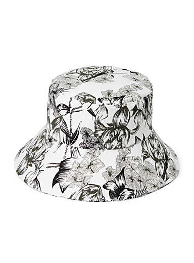 sanibel Assorted Floral print hat for women