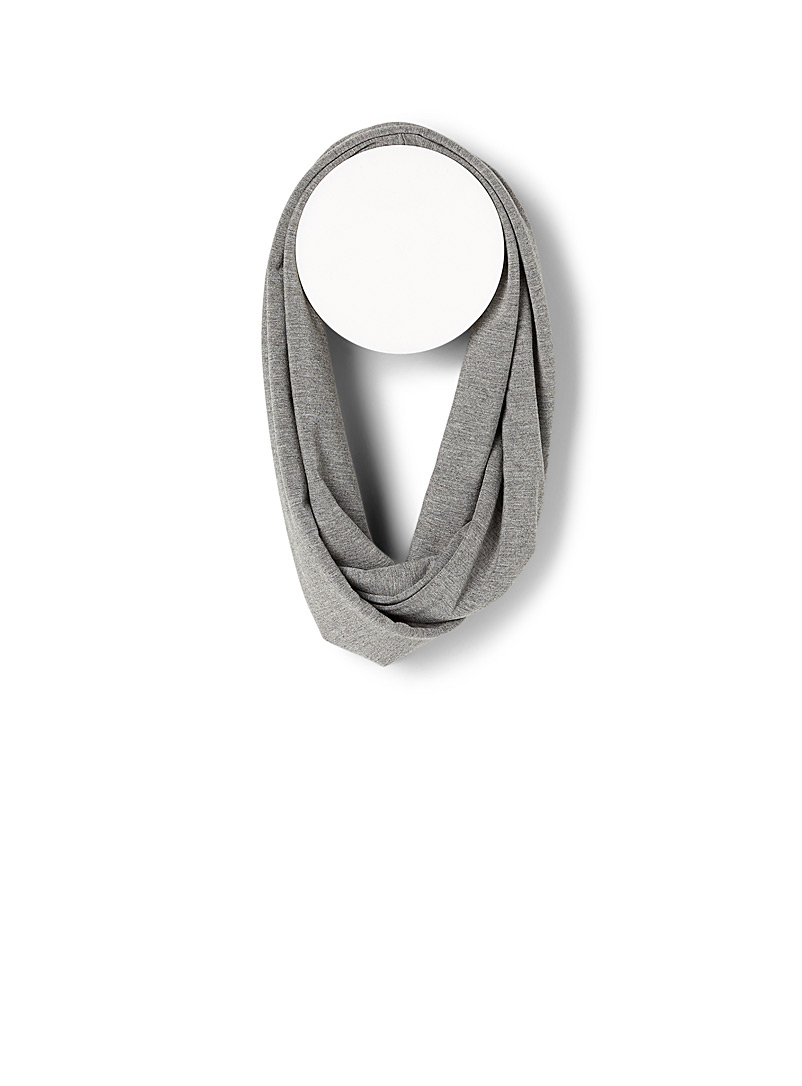 Sanibel Pink Soft bamboo infinity scarf for women