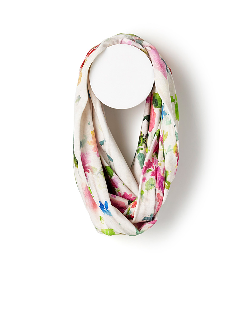 painted-flower-infinity-scarf