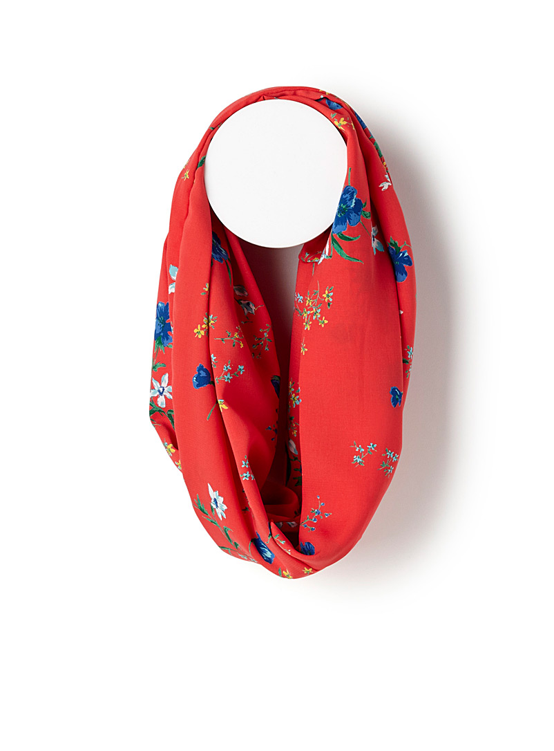colourful-mini-flower-infinity-scarf