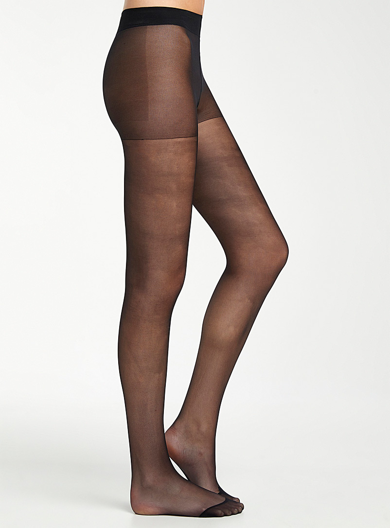 Bleuforêt Amber Bronze Sheer matte pantyhose for women