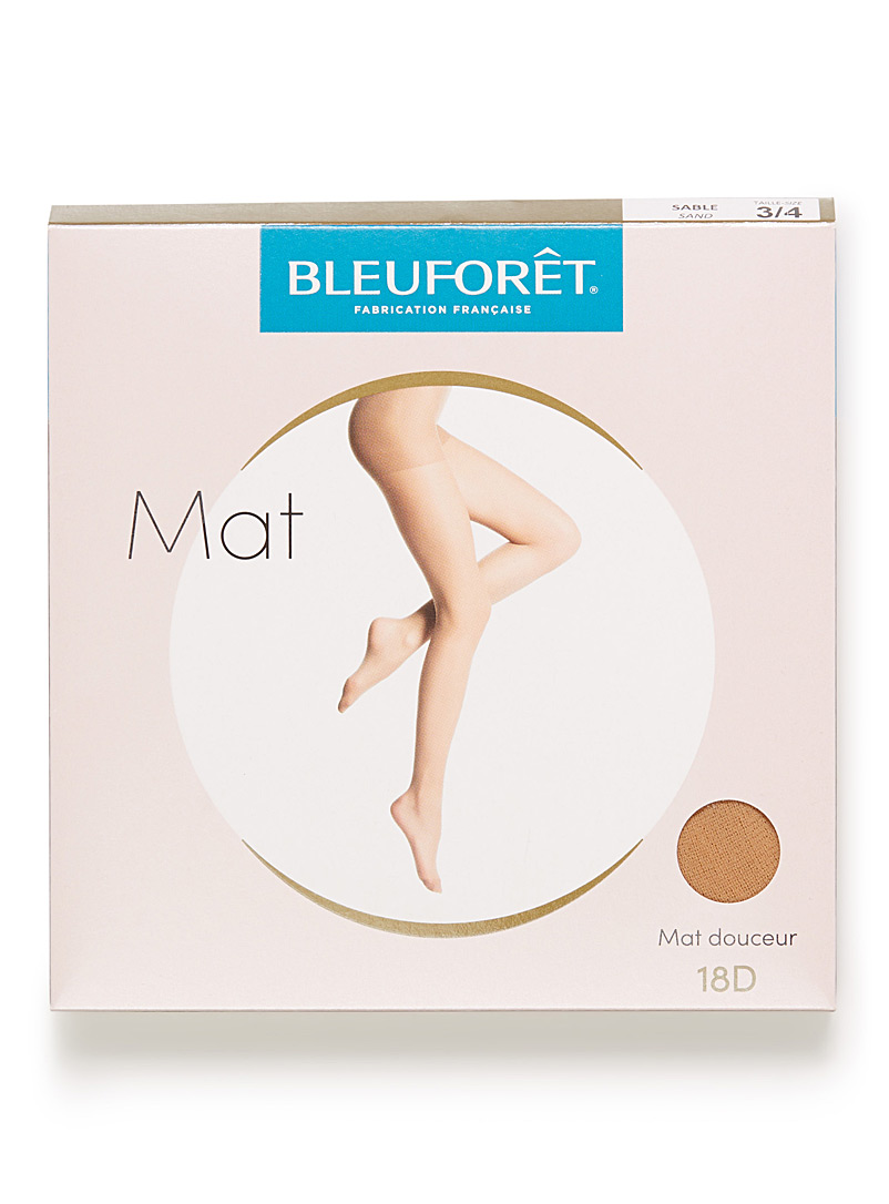 Sheer matte pantyhose - Regular Nylons - Sand