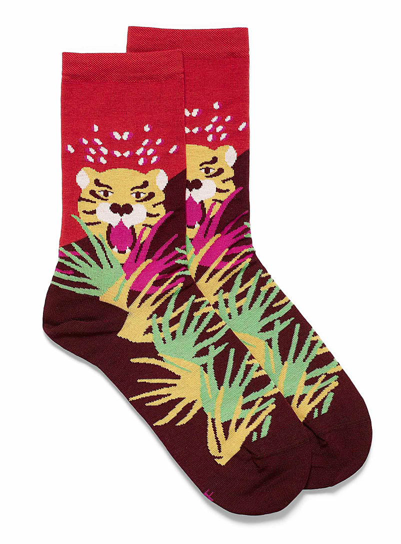 Hungry tiger socks