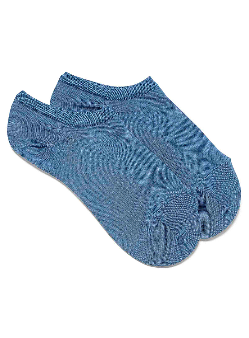 Bleuforêt Slate Blue Colored foot liner for women