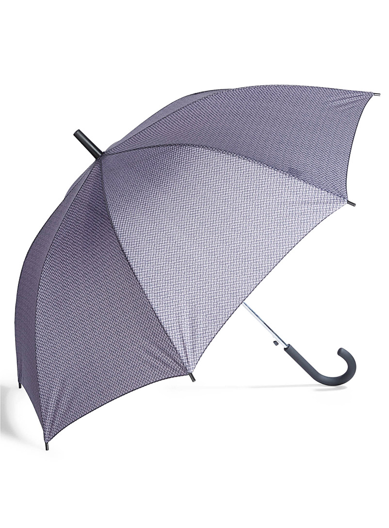 Plaid umbrella - Umbrellas - Patterned Grey