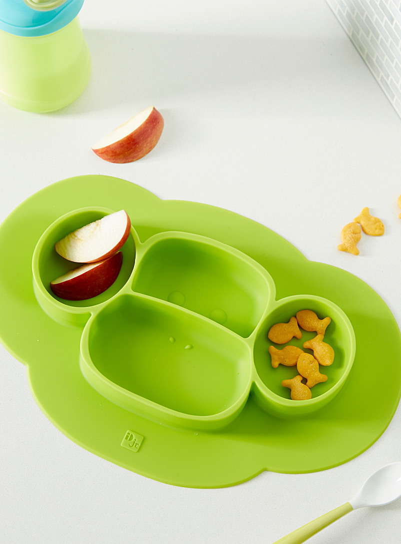 2-in-1 plate and place mat - Kitchen - Lime Green